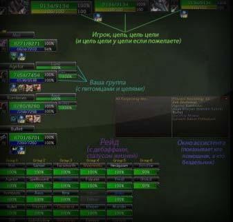 X-Perl UnitFrames (rus)